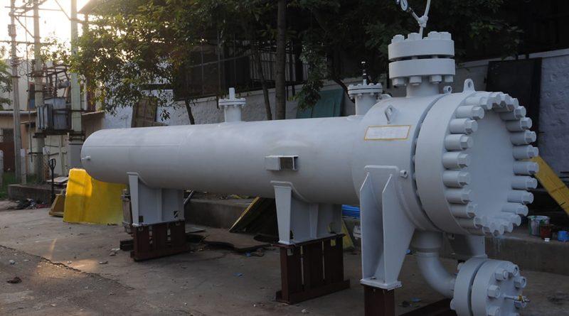 High Pressure Shell tube heat exchanger