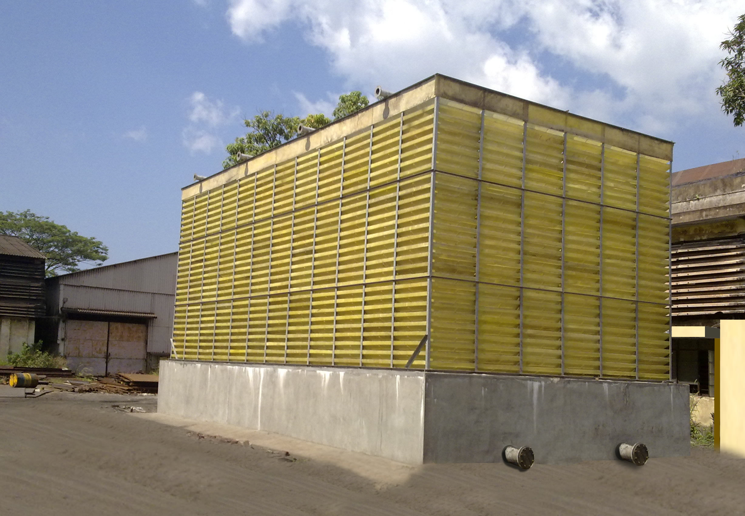 Fanless Cooling Tower Colormag
