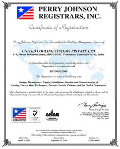 ISO-2008, Perry Johnson Registrars, Inc