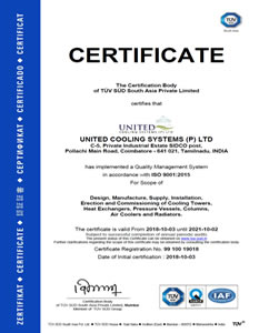 ISO CERTIFICATE 9001- 2015